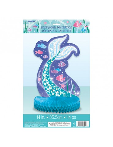 MERMAID CENTERPIECE 14""
