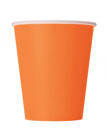 9 OZ GLASS (20) ORANGE