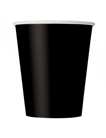 9 OZ GLASS (20) BLACK