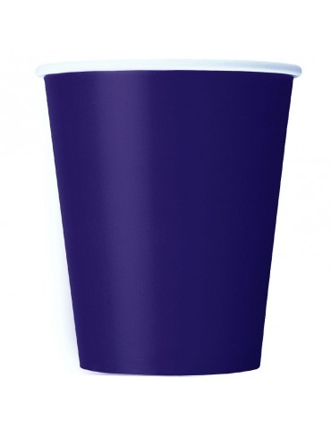9 OZ GLASS (20) PURPLE