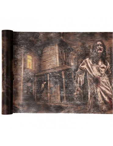 ZOMBIE TABLE RUNNER 30CMX5M