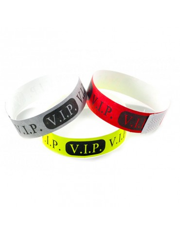 SECURITY PAPER WRISTBAND -...