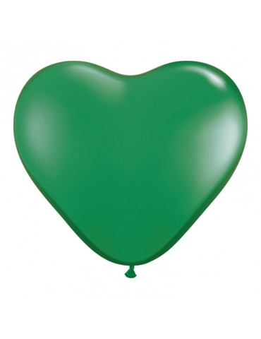 6'' HEART BALLOON - GREEN...