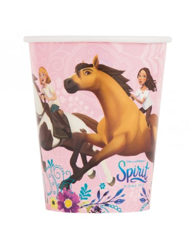 SPIRIT RIDING FREE 9OZ CUPS...