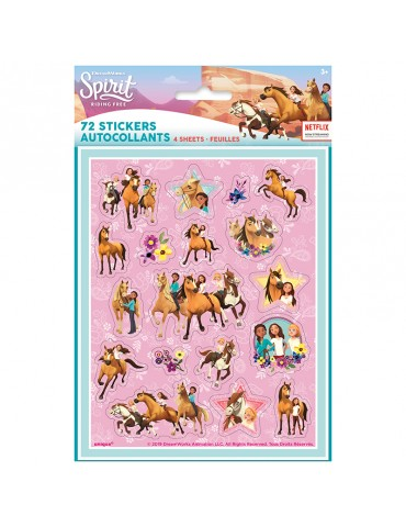 SPIRIT RIDING FREE STICKER (4)