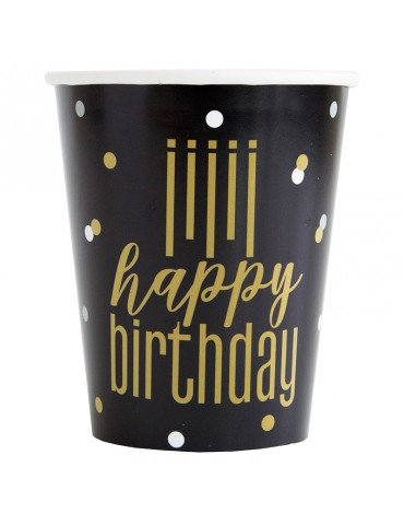"VERRE 9OZ ""HAPPY BIRTHDAY""..."