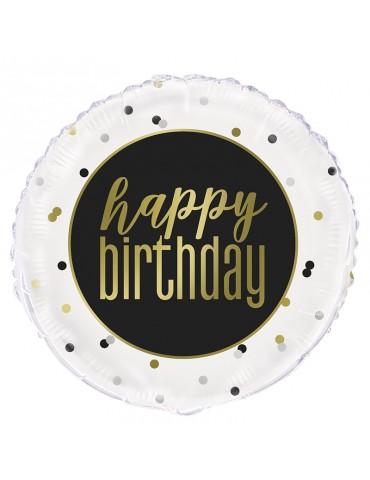 """MYLAR 18"""" HAPPY BIRTHDAY"""