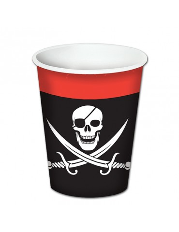 VERRE 8 OZ PIRATE (8)