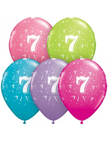 "BALLON 11"" NO.7 COUL...."