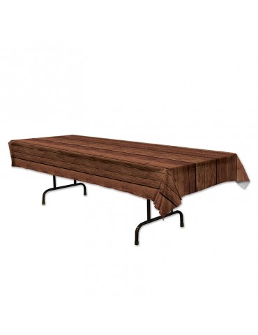 WOODEN TABLECOVER 54''X108''