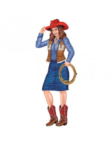 3' JOINTED COWGIRL