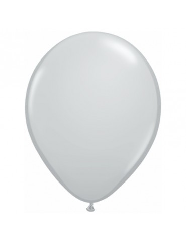 11'' BALLOON - GREY (100)