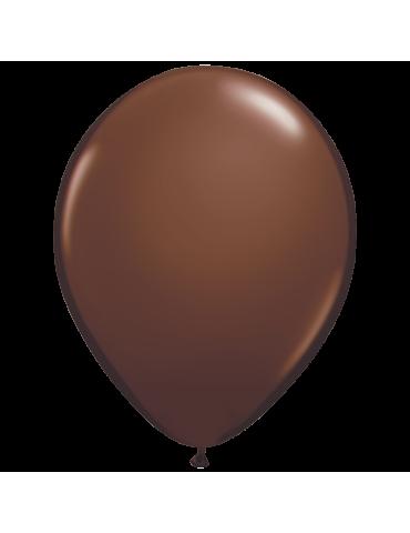 "BALLON 11"" BRUN CHOCOLAT (100)"