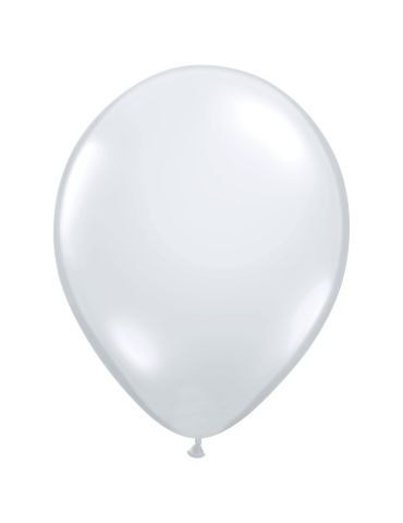 "11"" BALLOON - DIAMOND CLEAR..."