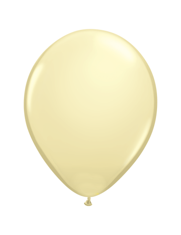 "11"" BALLOON - IVORY SILK (100)"