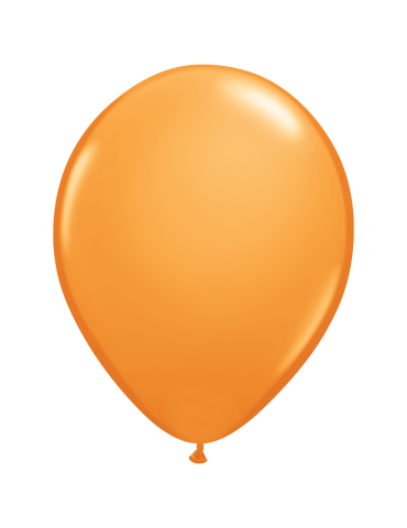 "11"" BALLOON - ORANGE (100)"