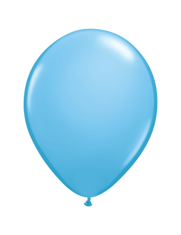 "BALLON 11"" BLEU PALE (100)"