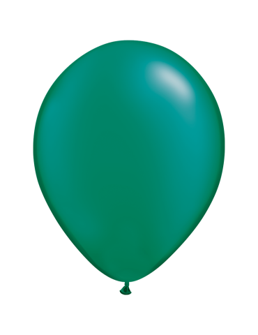 "11"" BALLOON - PEARL EMERALD..."