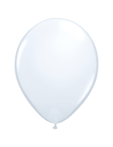 "11"" BALLOON - WHITE (100)"