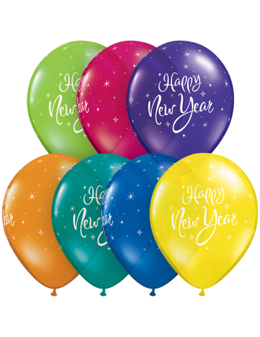 "11"" BALLOON - HAPPY NEW..."
