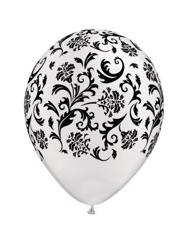 11'' BALLOON - DAMASK PRINT...