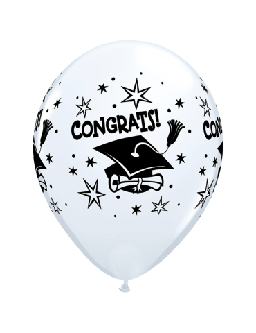11'' BALLOON - CONGRATS!...