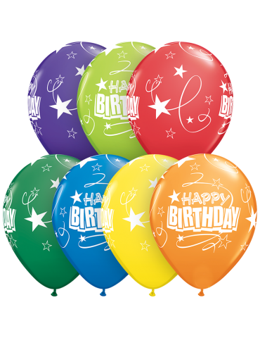 "11"" BALLOON - BIRTHDAY..."