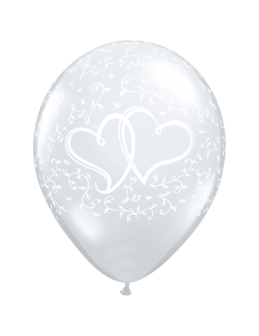BALLON 11'' COEUR DOUBLE -...