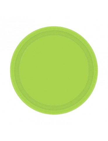 7'' PLATE - LIME GREEN (20)