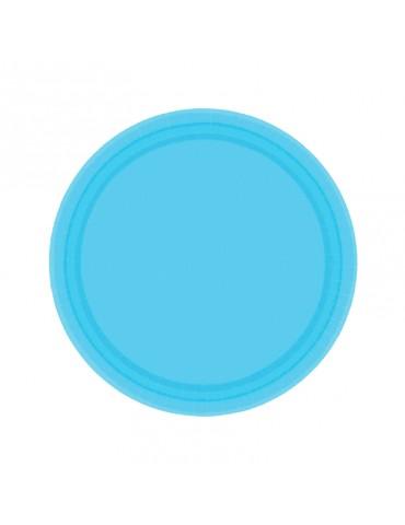 7'' PLATE - CARIBBEAN BLUE...