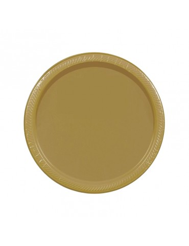 7'' PLATE - GOLD (20)