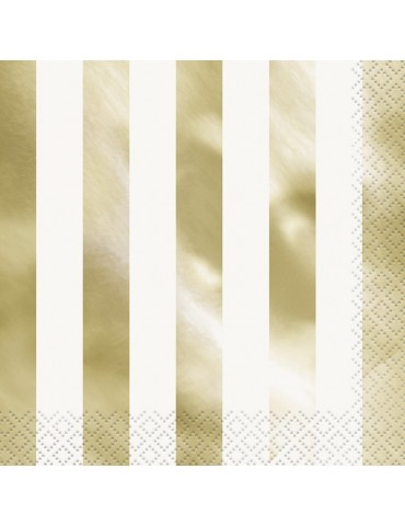 GOLD STRIPES LUNCHEON...