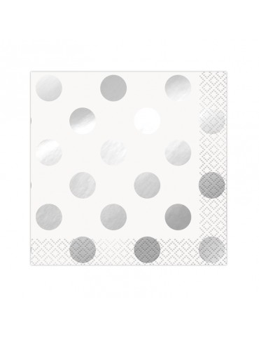DOTS BEVERAGE NAPKIN -...