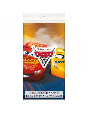 PLASTIC TABLECOVER - CARS 3