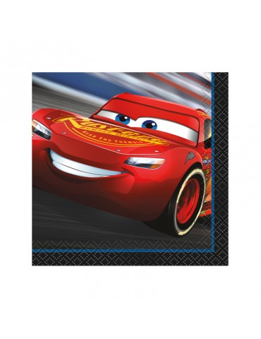BEVERAGE NAPKIN - CARS 3 (16)