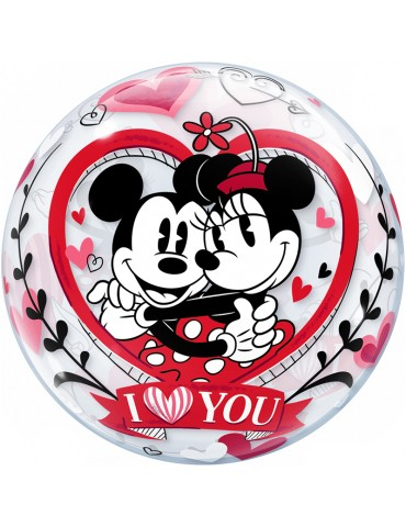 BULLE 22'' MICKEY & MINNIE...
