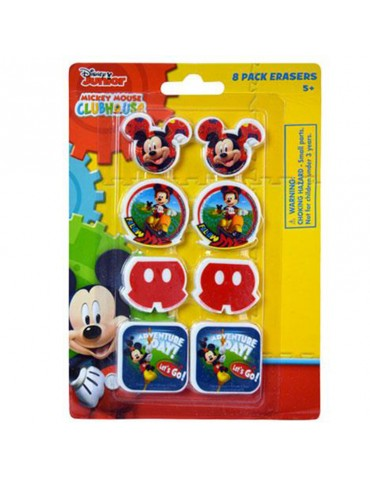 MICKEY SHAPED ERASER (8)