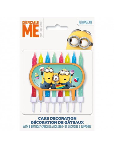 CAKE DECORATION WITH 8...