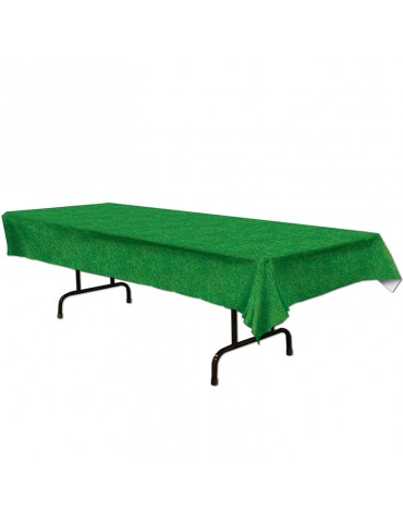 GRASS PLASTIC TABLECOVER...