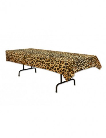 LEOPARD PRINT TABLECOVER...