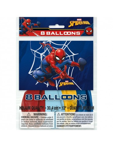 "BALLON 12"" SPIDER-MAN (8)"