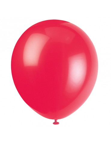 "12"" BALLOON - RED (10)"