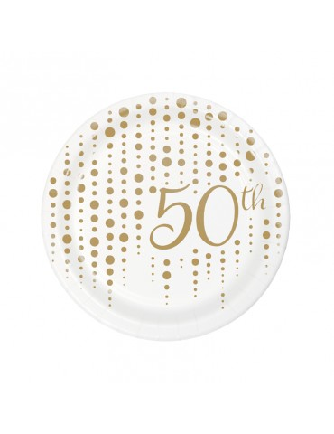 "ASSIETTE 7"" 50TH (8)"