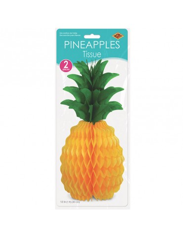 "12"" TISSUE PINEAPPLE (2)"