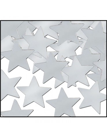 CONFETTI - SILVER STARS (1oz)