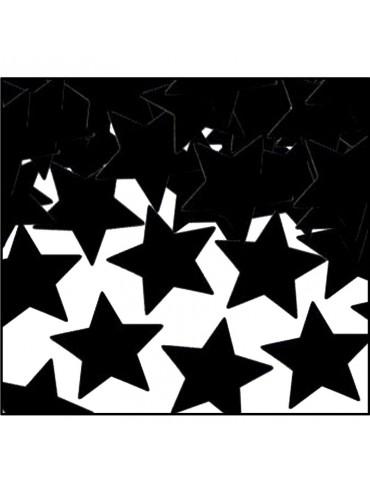 CONFETTI - BLACK STARS (1 OZ)
