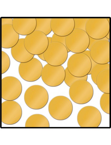CONFETTI - GOLD DOTS (1oz)