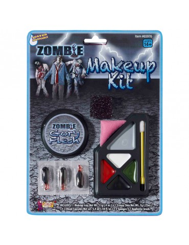 ENSEMBLE MAQUILLAGE ZOMBIE