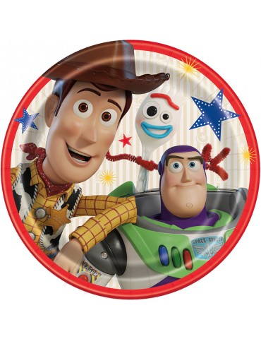 "TOY STORY 4 9"" PLATE (8)"