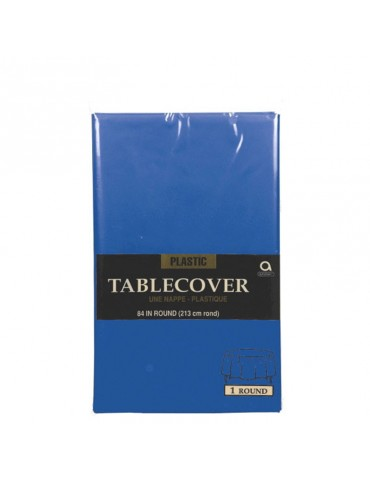 84'' ROUND TABLECOVER - NAVY